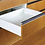 Thumbnail: Kit cajón extensión total Alore box Slim de 89x500 Blanco