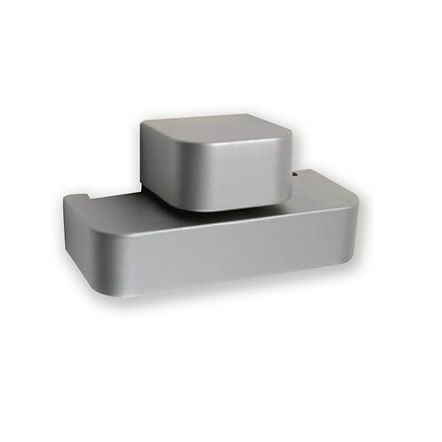 Soporte balda B de 4-15 mm Aluminio