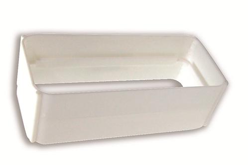 Empalme rectangular 150 x 75 Blanco