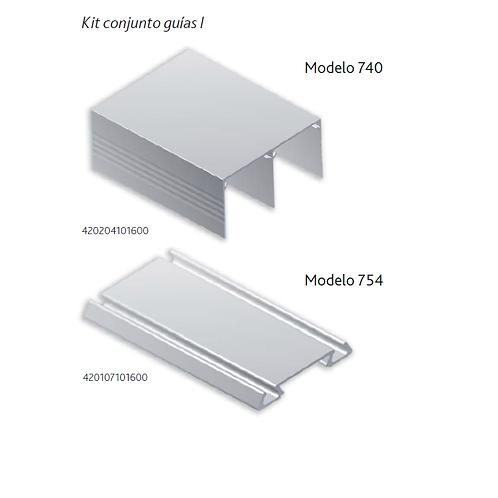 Kit conjunto guías I 740+754 papel sapelly 2metros