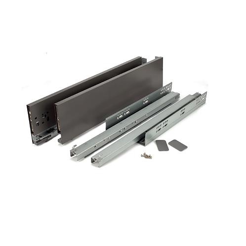 Kit cajón extensión total Alore box Slim de 121x500 Antracita