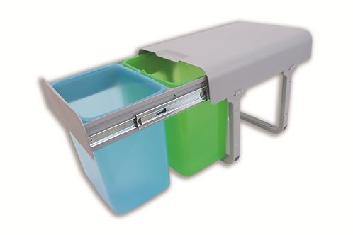 Cubo de basura ecológico M-40 3 Cubetas