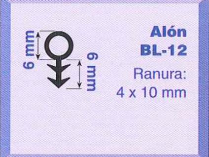 P.V.C. ALON BL-1/12 Marrón
