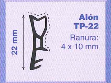P.V.C. ALON TP-22 Marrón pelable