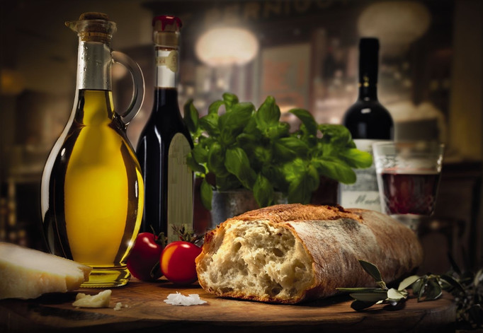 The Oil, the Wine and the Grain