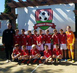 U12 Boys Red Team 2018