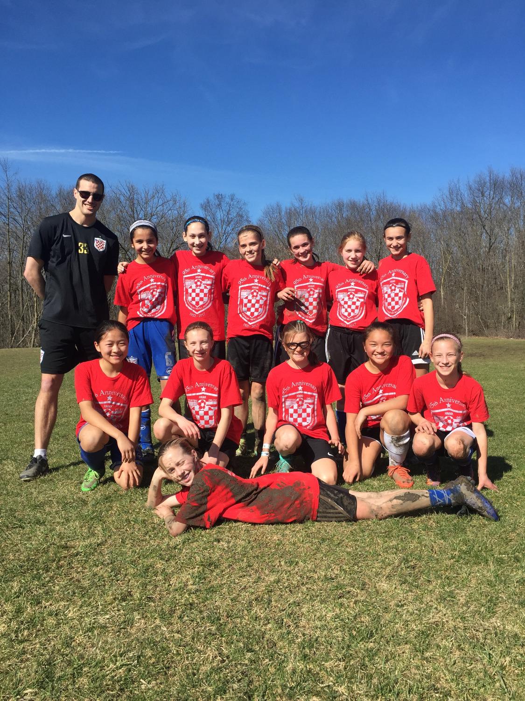 U12 Girls Red Team 2017
