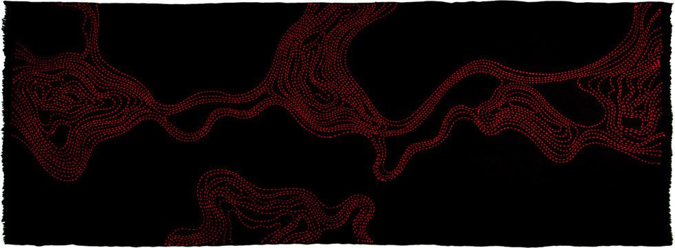 Kissing Galaxy Black Red