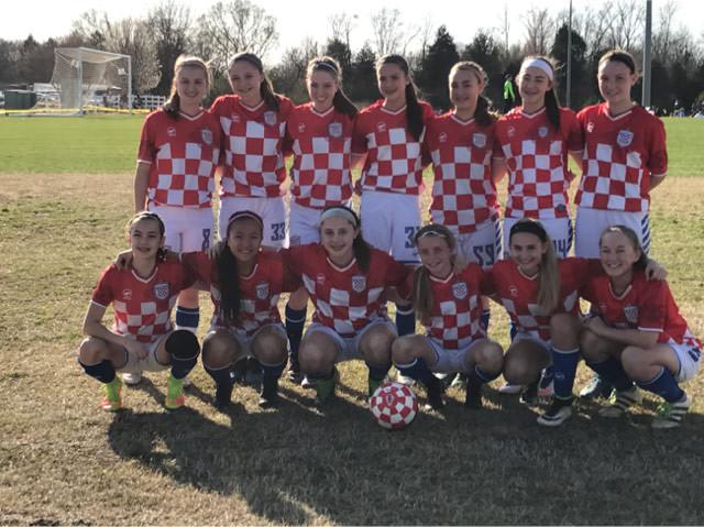 U14 Girls Red Team 2017