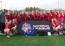 U16 Girls Red Team 2018