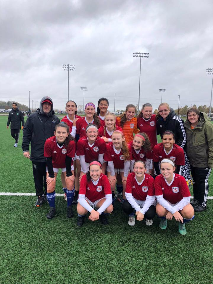U18 Girls Red Team 2018