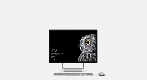 Slide Template - Surface Studio - Center