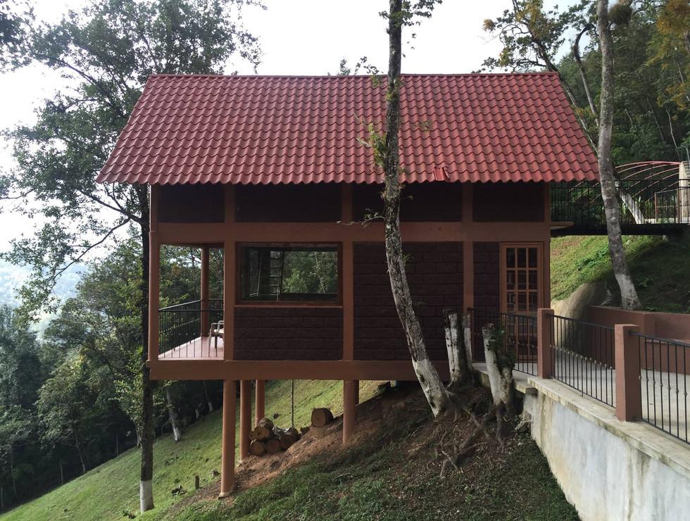Cabaña de 2 plantas