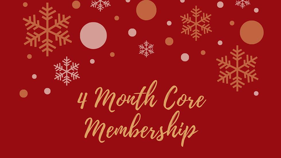4 Month Core Membership