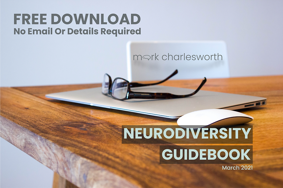 Neurodiversity Guidebook Cover March 202