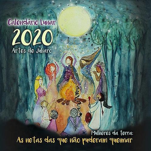 Calendário Lunar 2020 Mulheres da terra