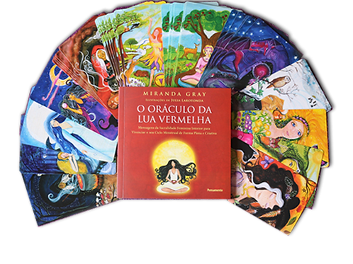 Oráculo da Lua Vermelha- Miranda Gray & Julia Larotonda