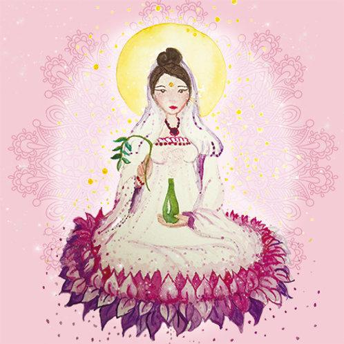 imã Deusa Kwan yin