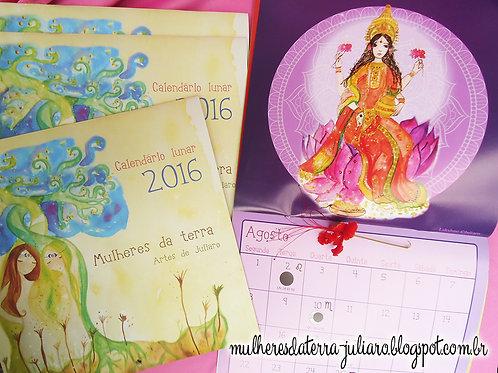 Calendário Lunar 2016 Deusas