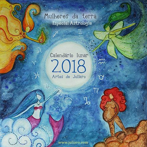 Calendário Mulheres da terra 2018- astrologia-