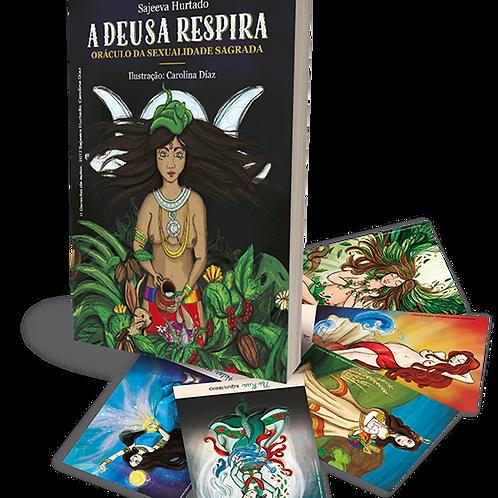 A Deusa Respira – Oráculo da Sexualidade Sagrada- Sarjeeva Hurtado