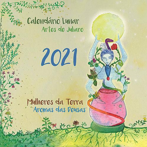Calendário Lunar 2021 Aromas das Deusas