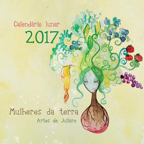 Calendário Lunar 2017 Mulheres da Terra