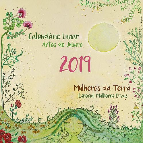 Calendário lunar mulheres da terra 2019