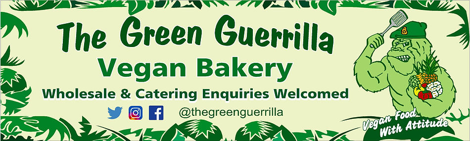 The Green Guerrilla Vegan Bakery with wh