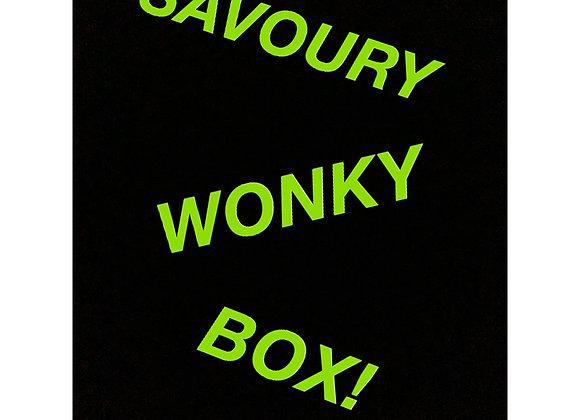 Savoury Wonky Box