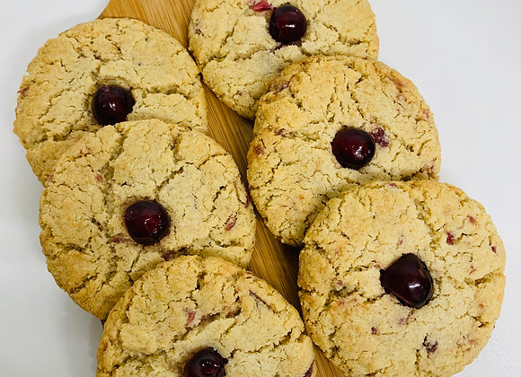 Coconut and Cherry Cookies