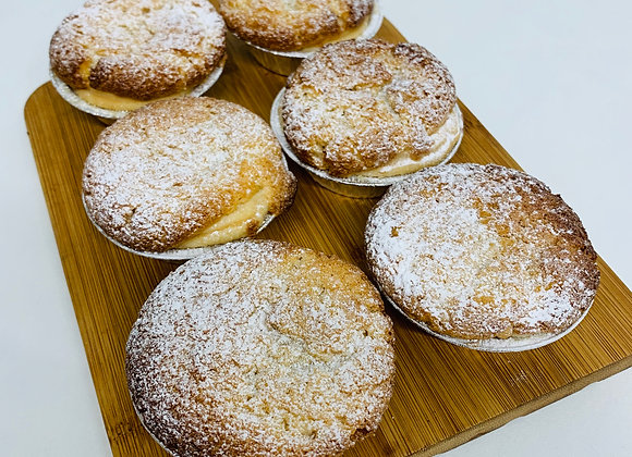 Blackcurrant Bakewell Tarts