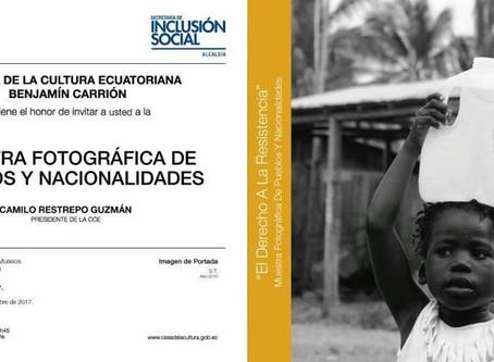 """Participación en la Exposición """"El Derecho a la Resistencia: Muestra Fotográfica de Pueblos y N"""