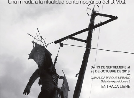"Instalación Fotográfica ""Entre Diablos: Una mirada a la ritualidad contemporánea del D.M.Q&quot"