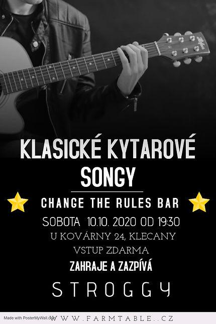 Copy of guitar live concert poster templ