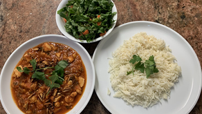 Maraqat (Stew) Tilapia & bulgur (crack of wheat)