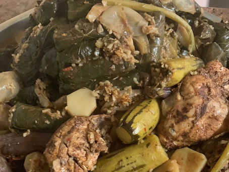 Secret Recipe: Iraqi Dolma With Stuffed Vegetables (Makes an excellent Recipe for Vegetarian &Vegan)