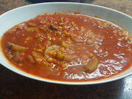 Maraq Shajar (zucchini with Tomatoes Sauce)