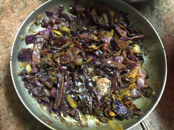Onion & Red cabbage