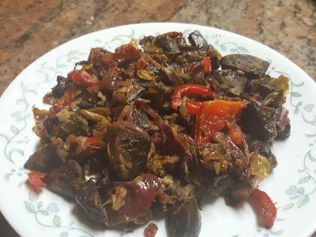 Lamb Liver, Heart, and kidney Recipe