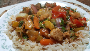 Meal Plan Idea # 8 Basmati Rice with Devil chicken