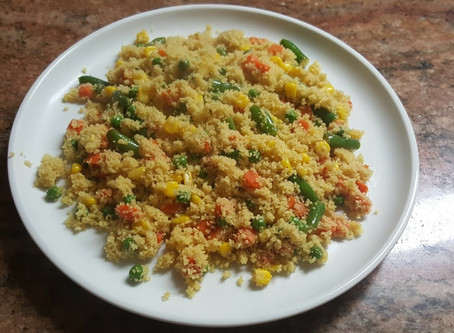 Couscous with Mix Vegetables