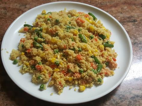Couscous with Mix Vegetables