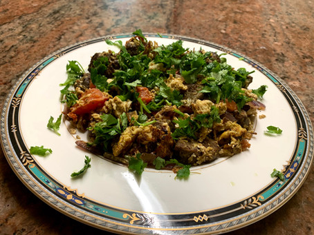 Breakfast Ideas                                     Beef Kabab & Eggs for Breakfast.