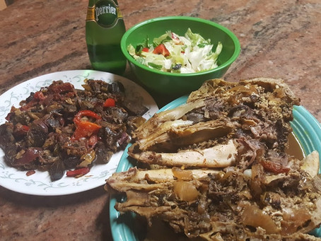 Lamb brain Dish (Pacha Iraqi dish)