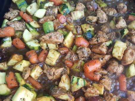 Dajaj Salsa (Chicken & Veg. stew)