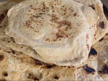 Khoubz (Iraqi Flat Bread)