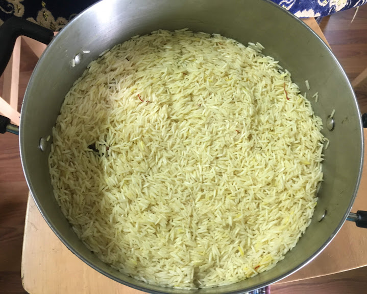 Add the rice