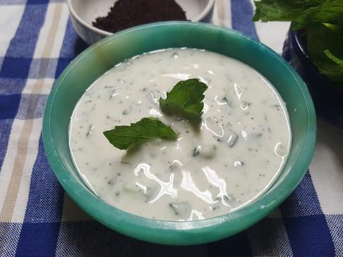 Iraqi Yogurt Cucumber Salad