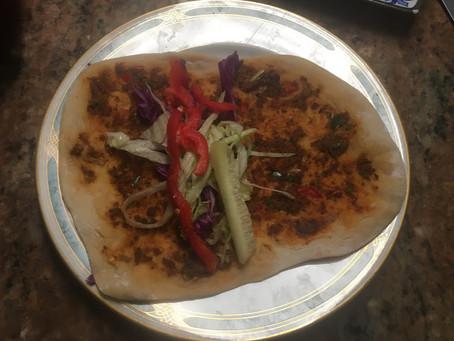 Sfeeha (Iraqi Meat Flat Bread)